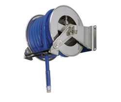 AV1300 Stainless Steel Spring Retracting Hose Reel