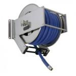 AV2300 Stainless Steel Spring Retracting Hose Reel 150x150 ST22   Swivel Wall Bracket