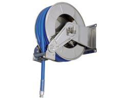 AV3501 Stainless Steel Spring Retracting Hose Reel