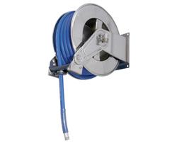 AV3502 Stainless Steel Spring Retracting Hose Reel