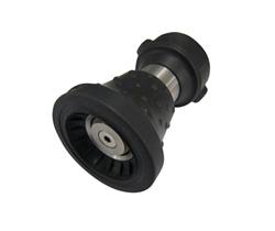 Bumper hose nozzles adjustable
