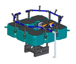 E46 floating evaporator