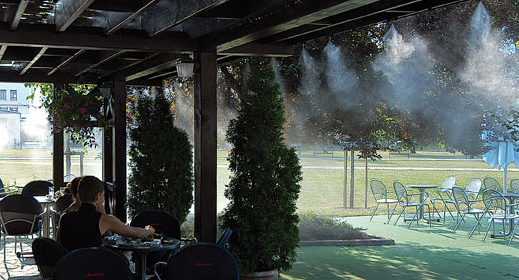 Residential misting Applications