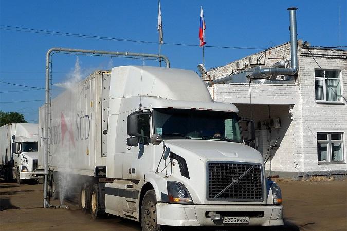 IDA Vehicle Disinfecting System Web IDA Vehicle Disinfection