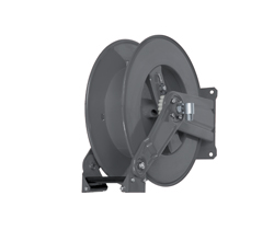 AV1000FE Powder coat steel spring retracting hose reel