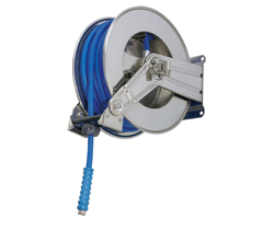 AV1100 Hose Reel Spring Retracting Stainless Steel