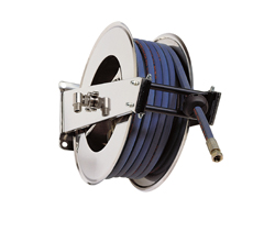AV2000 Hose Reel Spring Retracting Stainless Steel
