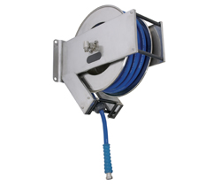 AV2200 Spring Retracting Stainless Steel Hose Reel