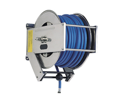 AV3000 Spring Retracting Stainless Steel Hose Reel