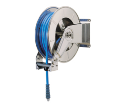 AV3500 Hose Reel Spring Retracting Stainless Steel
