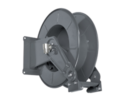 AV3501FE Powder coated spring retracting hose reel