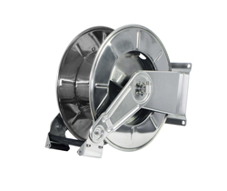 AV3550 Spring Retracting Stainless Steel Hose Reel