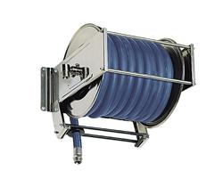 AV5000 Stainless Steel Spring Retracting Hose Reel