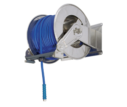 AV6000 Hose Reel Spring Retracting Stainless Steel