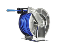 AV6200 Spring Retracting Stainless Steel Hose Reel