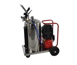 PS 1675 foamer with compressor