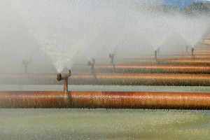 Evaporation chlorine