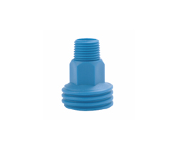 PS ZLF threaded nipple