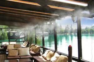 Evaporative cooling mist system