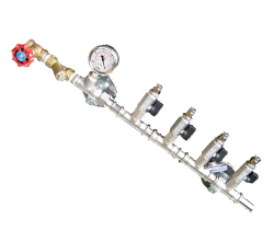 Spray bars and manifolds