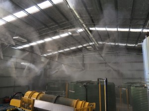 Odour Control 300x225 Misting system eliminates odours at waste treatment facility