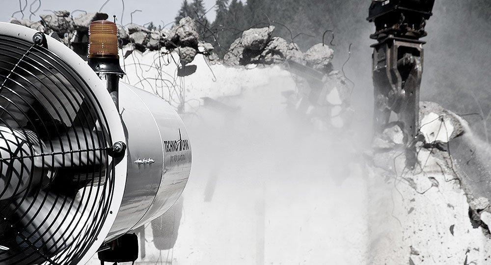 V7 demolition V7   Dust Cannon