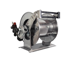 Pneumatic driven hose reel AVPN0 AVPN2